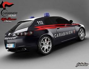 Alfa Brera Carabinieri std mat 3D