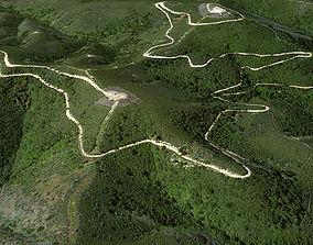 3D model Tepusquet Peak