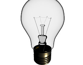Incandescent lamp 3D