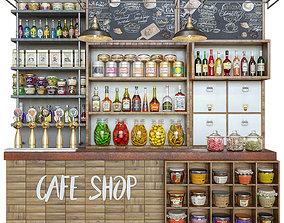 CafeShop 3D model