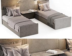 3D model SINGLE BEDS 11