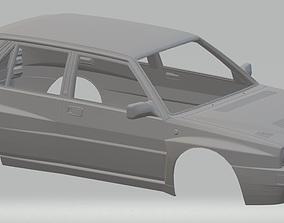 Lancia Delta 1982 Printable Body Car