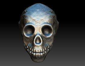 3D model skullD