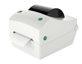Thermal Label Printer Zebra GC420 T 3D model