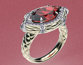 3D printable model Ring Marquis