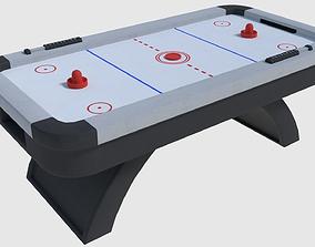 3D model Air Hockey - Game Ready