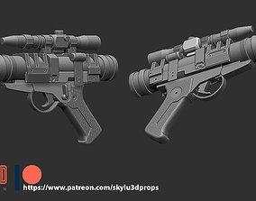 Star Wars DT-15 Blaster Props 3D print STL