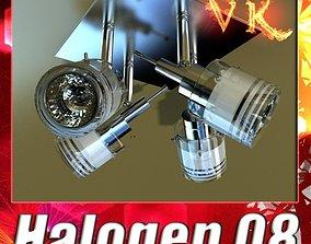 Halogen Ceiling Light 08 Photoreal 3D