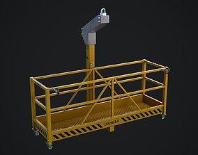 Window Cleaning Platform 3D model
