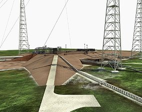 ksc Launch Complex 39B Clean Pad 3D model