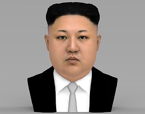 Kim Jong-un bust ready for full color 3D