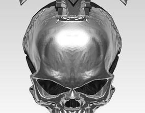 King Sword Skull Pendant jewelry printable