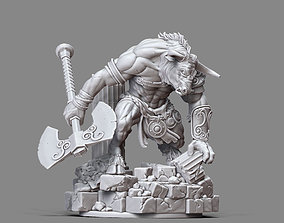 3D print model greek Asterion 1-32 scale - 52 mm