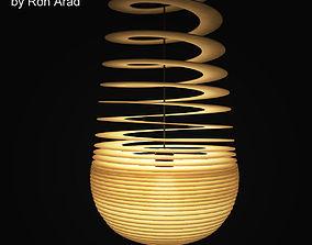 Ge Off Sphere Pendant Light 3D model