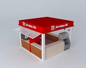Basic Juan Valdez Cafe Store 3D