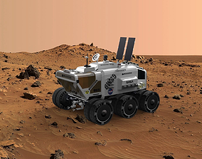 3D model Mars Surface Rover