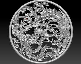 decoration phoenix 3D printable model