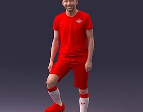 Football player 1212 3D print ready