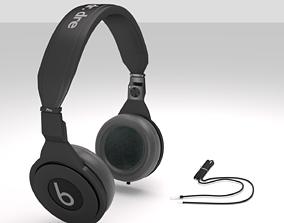 3D animated headphone