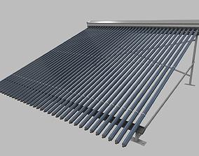 solar collector 4 3D
