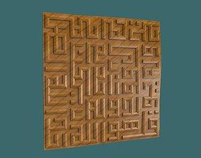 Quran surah al ikhlas kufi calligraphy 3d stl model for 1