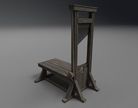 3D model Guillotine PBR execution