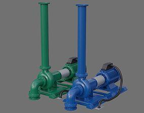 3D asset Water Pump 2A