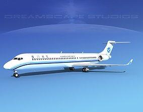 Comac ARJ21-900 Xiamen Airlines 3D model
