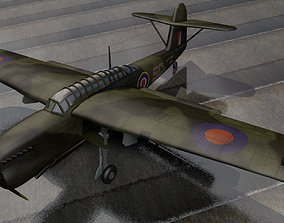 3D Fairey Barracuda Mk-2