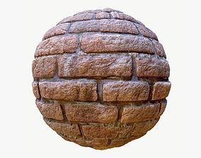 3D model Brick Wall 01 PBR Texture
