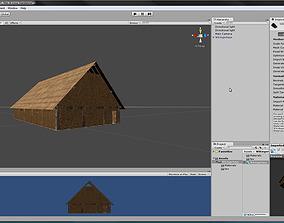 3D asset Wikingerhaus unitypackage