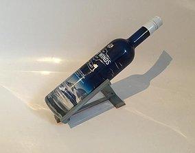 Bottle holder at an angle 3D printable model