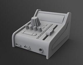 Sound Mixer 3D model
