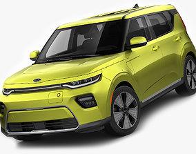 Kia Soul EV 2020 3D model
