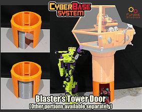 3D print model Blasters Communicator Tower Door from 2