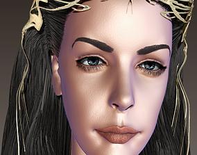 Liv Tyler 3D asset