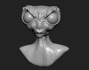 Alien 04 3D print model