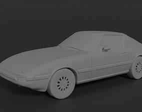 Mazda RX-7 FB 3D printable model