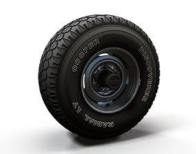 Offroad truck wheel 3D