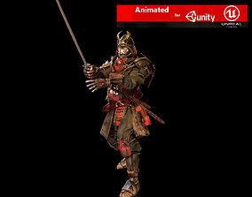 Samurai 3D asset