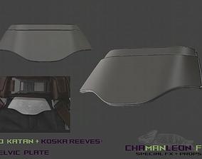 3D print model Bo Katan and Koska Reeves Pelvic Armor 2