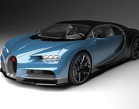 vehicle Bugatti Chrion 2019 3D Model