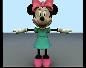 3D model Minnie Mouse