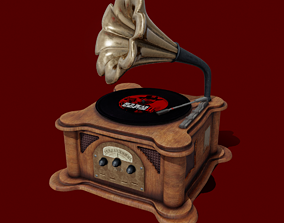 Turntable 3D asset
