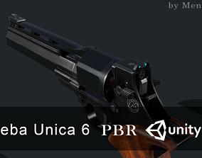 Unica 6 revolver 3D model