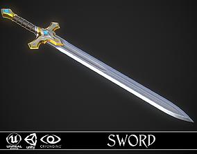 Sword A6 3D asset
