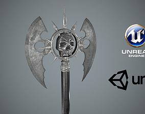 Medieval Fantasy Axe 3D asset