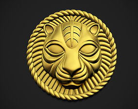 Lion Rounded 3D printable model