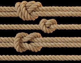 3D model Rope knots