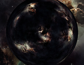 3D Nebula Space Environment HDRI Map 021